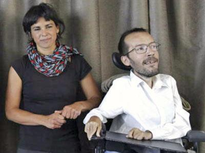 Teresa Rodríguez y Pablo Echenique en una foto de archivo.