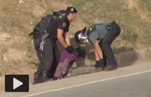 Bruselas advierte a España de que no use<br> la fuerza en la valla <br>de Ceuta y Melilla