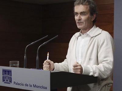 El director del Centro de Coordinación de Alertas y Emergencias Sanitarias del Ministerio de Sanidad, Fernando Simón. Archivo EFE