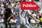 Cristiano e Isco se divierten en el Ciutat de Valencia