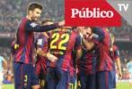 El Barça tumba al Eibar y Messi se queda a un gol del récord de Zarra