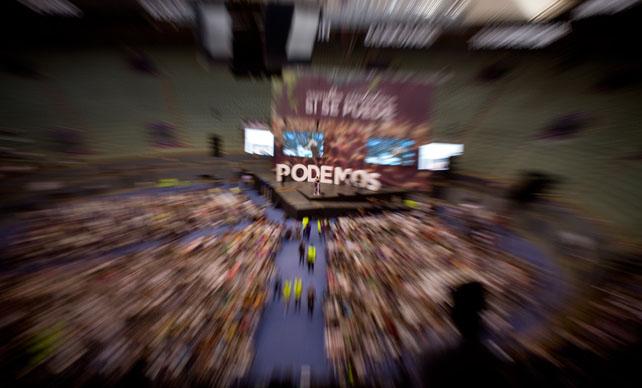 Imagen de la Asamblea de Podemos.