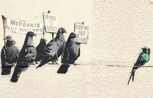 """Un Ayuntamiento borra un mural de Banksy de 500.000 euros por """"racista"""""""