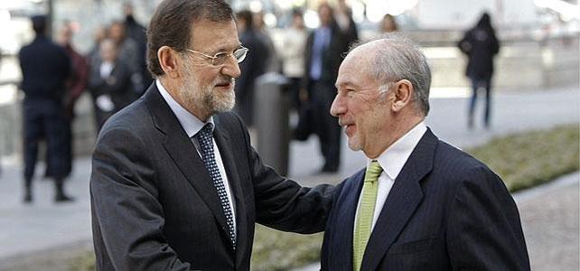 Mariano Rajoy y Rodrigo Rato en una foto de archivo