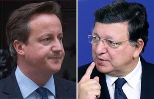 Rifirrafe entre Cameron y Barroso por la permanencia de Reino Unido en la UE