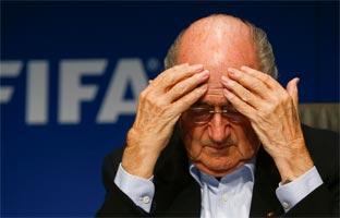 Blatter recula y quiere <br>ahora que el Mundial <br>de Qatar se celebre en noviembre y diciembre