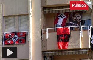 El Ayuntamiento de <br>Sabadell denuncia que <br>un vecino exhibe símbolos nazis en su balcón