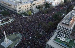 Las Marchas de la Dignidad prevén movilizar a cinco millones de personas