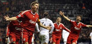 ElMadrid no conocela victoria <br>ni el gol ante el Liverpool