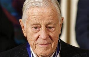 Muere Ben Bradlee, director del 'Washington Post' durante el 'Watergate'