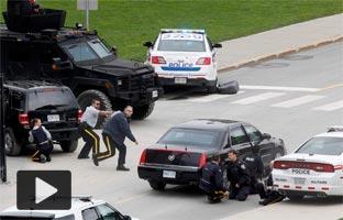 La Policía de Canadá mata a un hombre armado que asaltó a tiros el Parlamento