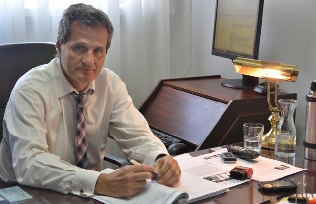 El fiscal Ramiro González. A. D.