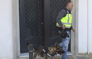 Oleguer Pujol, en libertad con cargos tras el registro de su domicilio