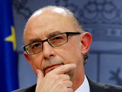 El ministro de Hacienda y Administraciones Públicas, Cristóbal Montoro / EFE