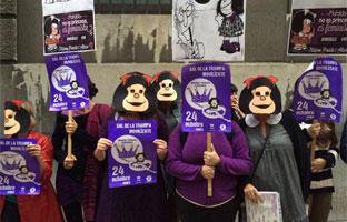 Las Marchas de la Dignidad piden a Quino que renuncie al Príncipe de Asturias
