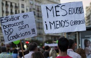 """Estudiantes y docentes llaman a """"resistir"""" contra la Lomce, Wert y los recortes"""