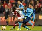 El Sevilla se frena en Bélgica