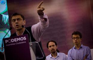 El líder de Podemos propone a Monedero para alcalde de Madrid