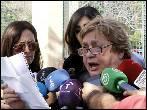 La portavoz de Teresa Romero deja de serlo a petición del marido de la auxiliar