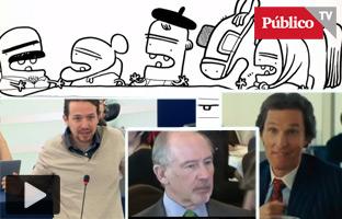 """Pablo Iglesias a Juncker: """"Vengavestido de mujer"""""""