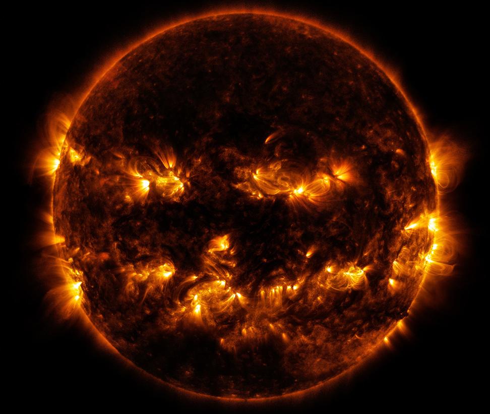 Resultado de imagen de manchas en el sol