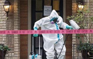 El Ejército de EEUU entrena un equipo de respuesta rápida ante el ébola