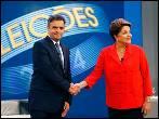 Rousseff y Neves llegan igualados a la jornada electoral, según el último sondeo de la víspera