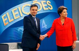 Rousseff y Neves llegan igualados a las urnas, <br>según el último sondeo