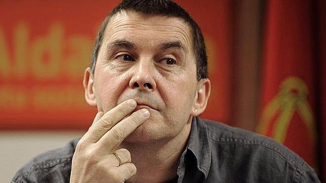 El secretario general de Sortu, Arnaldo Otegi, en una imagen de archivo