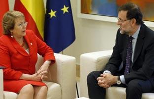 """Rajoy lanza un dardo envenenado a Aguirre: """"Se <br>ha equivocado como yo"""""""