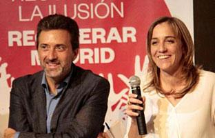 Tania Sánchez y Mauricio Valiente logran los avales para su candidatura a las primarias de IU Madrid