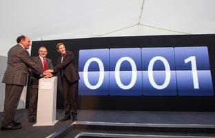 Iberdrola pone en marcha <br>en Inglaterra su primer parque eólico marítimo