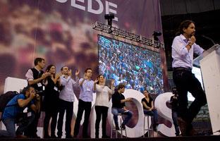 Los candidatos a secretario general de Podemos no harán un debate cara a cara