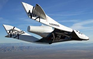 Un muerto y en un herido<br> al explotar en el aire la nave<br> espacial de Virgin Galactic