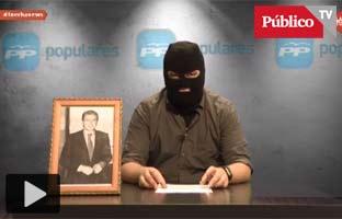Ortega Lara ataca a <br>Podemos por una parodia del PP emitida en La Tuerka