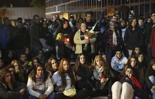 Familiares y amigos exigen justicia para las cinco chicas muertas <br>en el Madrid Arena