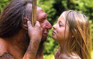 Neandertales y humanos <br>tuvieron hijos hace 50.000 años