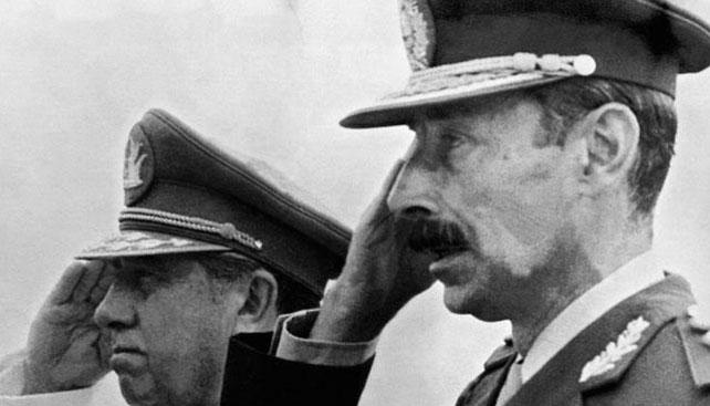 El dictador argentino, Jorge Rafael Videla, en una foto de archivo.