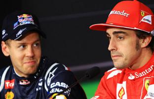 Ferrari cambia a <br> Alonso por Vettel