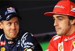 Ferrari cambia a Alonso<br> por Vettel