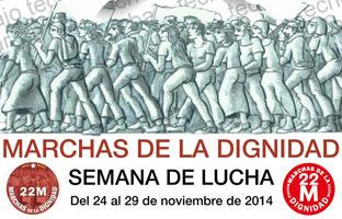 """Las Marchas de la Dignidad vuelven a la calle para pedir """"trabajo y techo"""""""