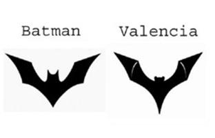 Batman demanda al Valencia CF <br>por el murciélago de su escudo