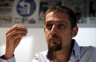 """Florent Marcellesi: """"La mayor corrupción está <br>en el sistema energético"""""""