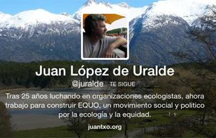 """Juan López de Uralde:<br> """"Soria miente a conciencia"""""""