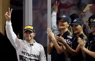 Hamilton no falla y conquista otro Mundial