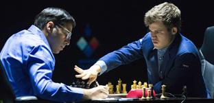 Magnus Carlsen, campeón del Mundial de ajedrez de los dos errores garrafales en un minuto