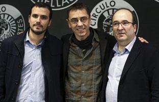 Monedero, Garzón e Iceta piden que se inicie un proceso constituyente