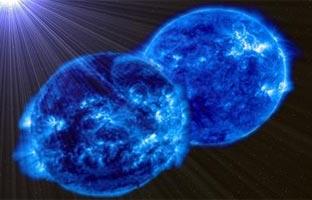 Dos estrellas se fusionarán en una sola supermasiva