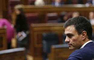 El Grupo Socialista respalda a Sánchez,<br> pero critica que <br>censure a Zapatero