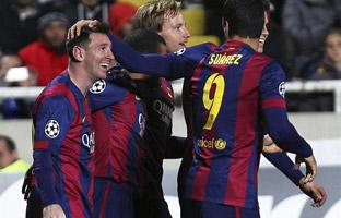 Messi también bate el<br> récord de Raúl en la<br> Liga de Campeones